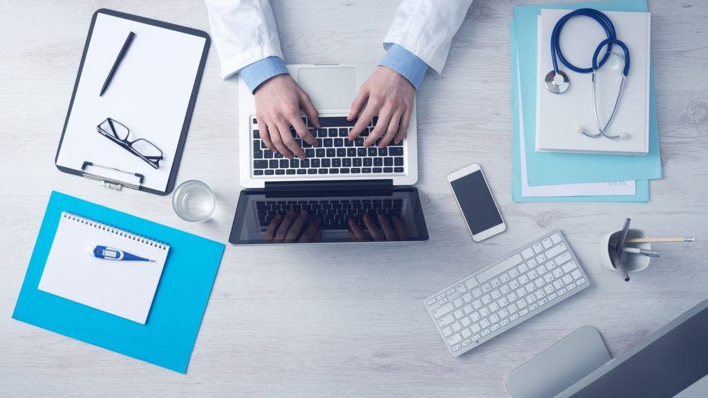Dane medyczne w gabinecie lekarskim